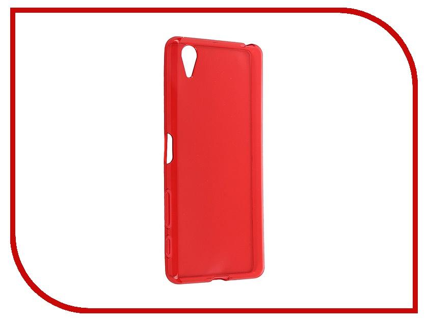 Аксессуар Чехол Sony Xperia X iBox Crystal Red<br>