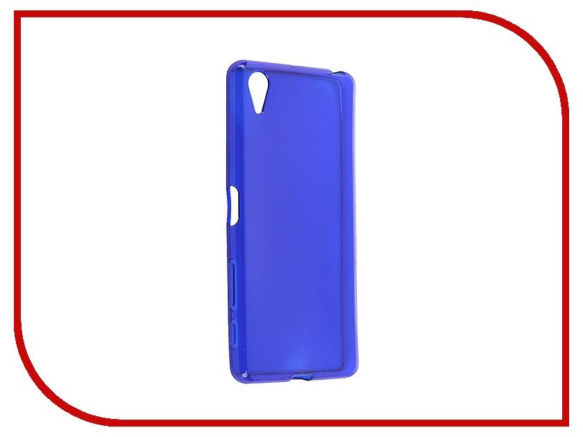 Аксессуар Чехол Sony Xperia X iBox Crystal Blue<br>