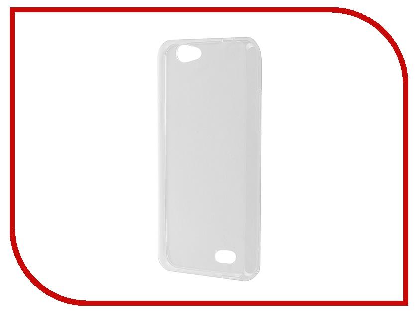Аксессуар Чехол ZTE Blade A465 iBox Crystal Transparent аксессуар чехол lenovo vibe s1 ibox crystal transparent