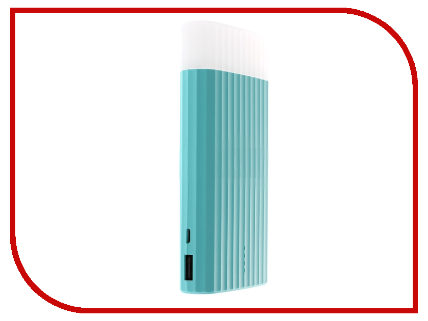 Аккумулятор Remax Power Bank Proda Ice Cream PPL-18 10000mAh Mint Blue аккумулятор remax proda chicon series ppp 33 10000mah grey