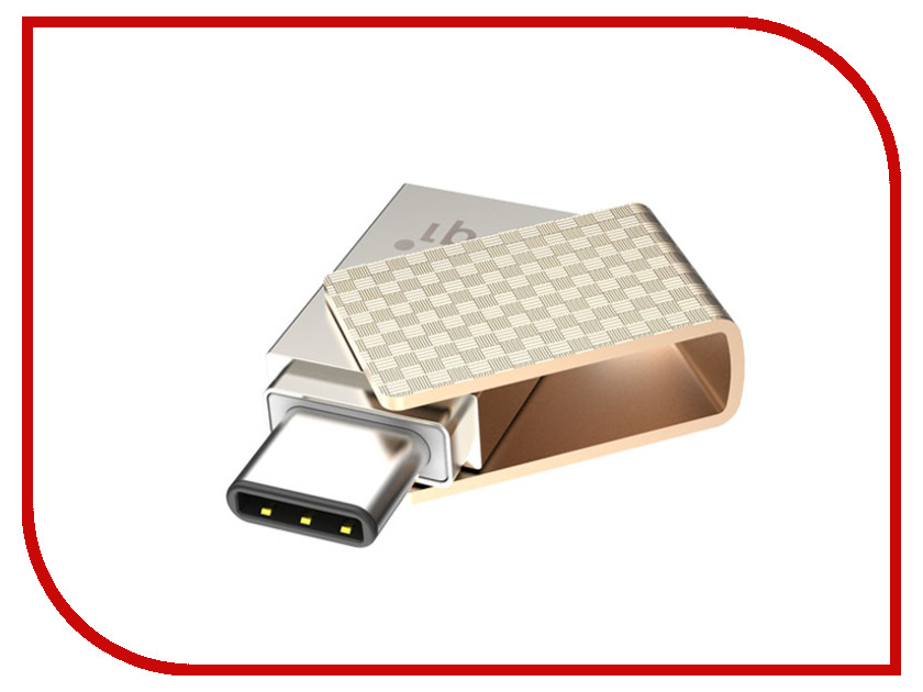 USB Flash Drive 32Gb - PQI Connect 313 USB 3.1/Type-C 6007-032GR102A