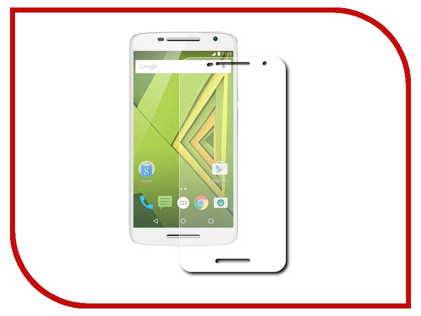 Аксессуар Защитная пленка Motorola Moto X Style 5.7 Red Line<br>