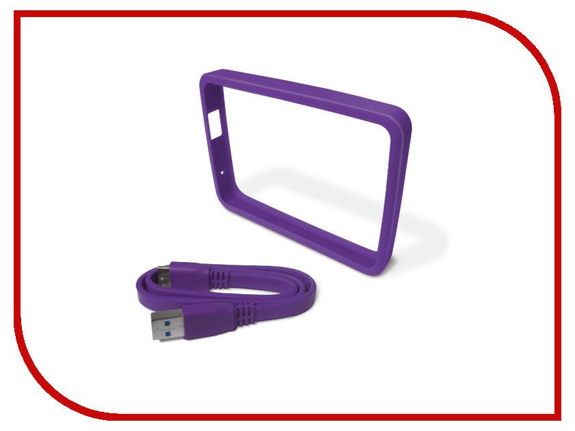 Аксессуар Western Digital Grip Pack WDBZBY0000NPL-EASN для My Passport Ultra Violet