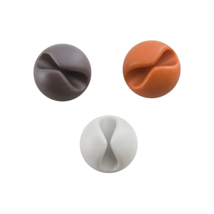 Аксессуар Комплект Bluelounge CableDrop CD-MT White/Orange/Brown аксессуар tranzx cd 17