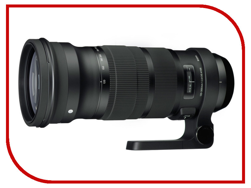 Объектив Sigma AF 120-300mm f/2.8 DG OS HSM Sports Nikon FSigma AF 120-300mm f/2.8 DG OS HSM Sports Nikon F