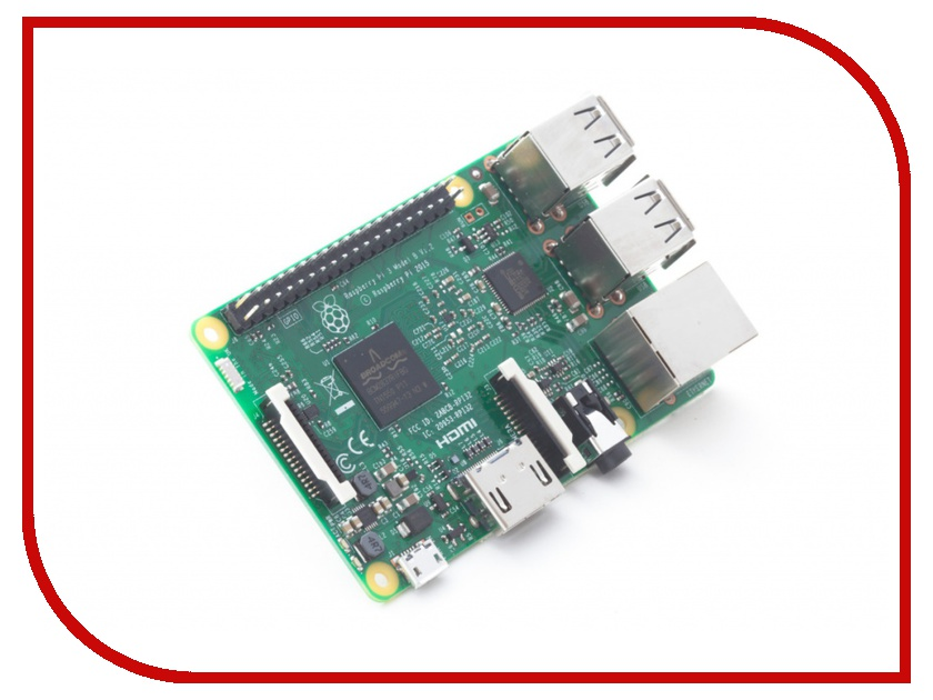 Мини ПК Raspberry PI 3 Model B 1Gb raspberry pie 3 b raspberry pi 2 b c type dog bone shell