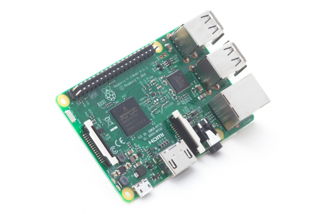 Мини ПК Raspberry PI 3 Model B 1Gb