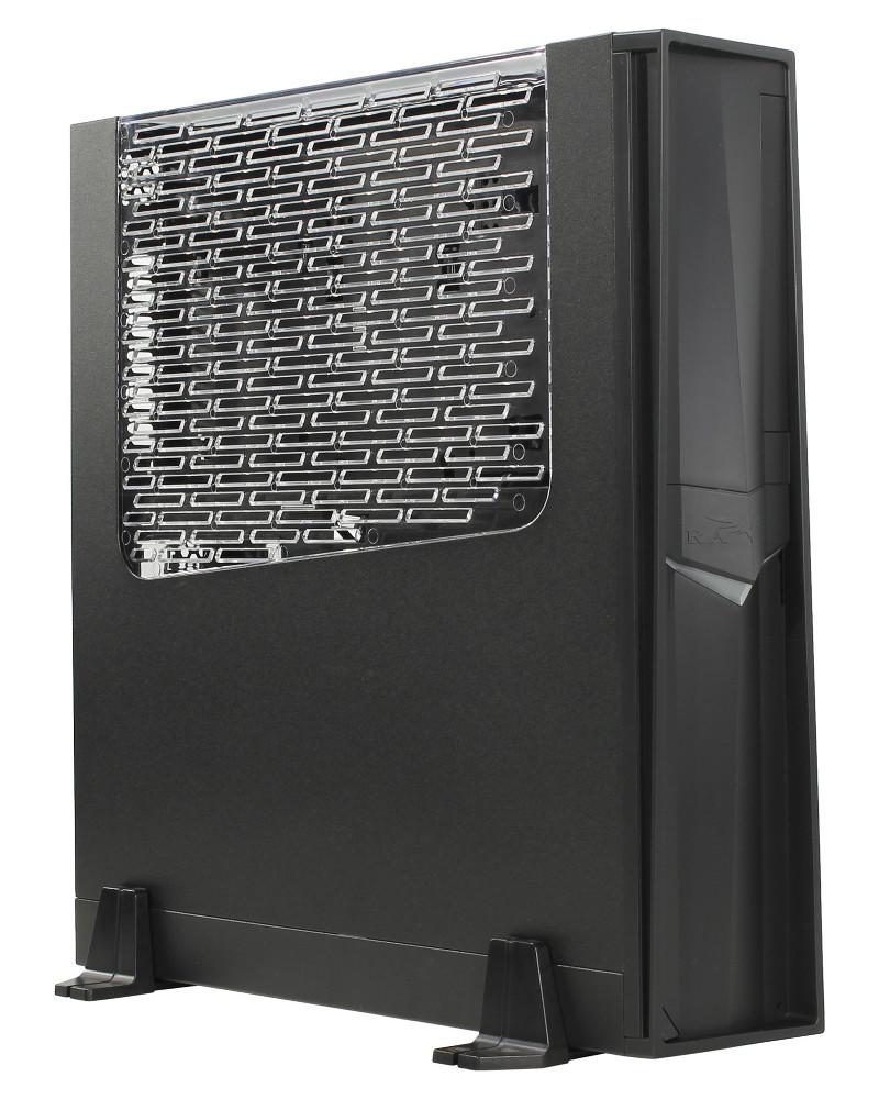 Корпус SilverStone RVZ02B-W Black
