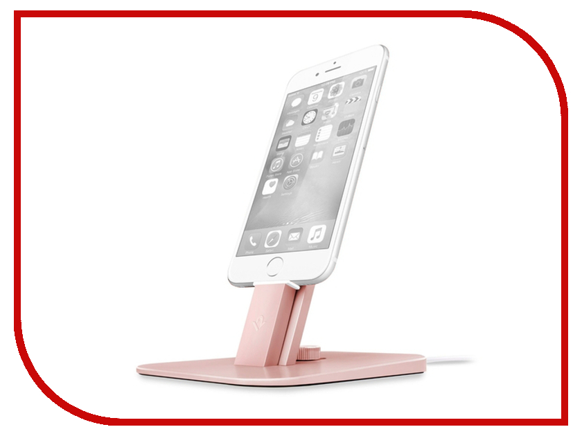 Аксессуар Держатель Twelve South HiRise Deluxe для iPhone / iPad Mini Pink 12-1516 аксессуар держатель twelve south hirise v2 для apple iphone ipad silver 12 1624