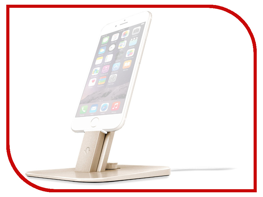 Аксессуар Держатель Twelve South HiRise Deluxe для iPhone / iPad Mini Gold 12-1436 аксессуар держатель twelve south hirise v2 для apple iphone ipad silver 12 1624