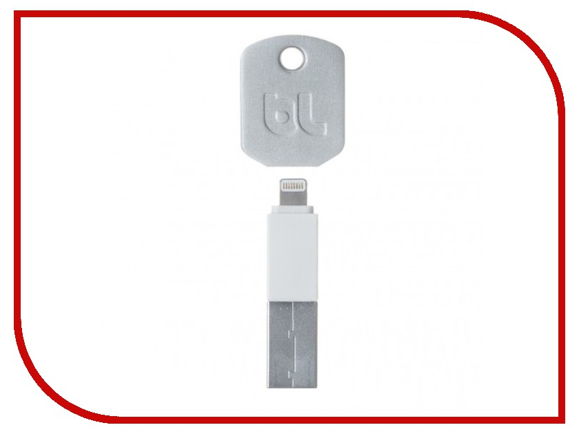 Аксессуар Bluelounge Kii USB - Lightning White Kii-WH-L