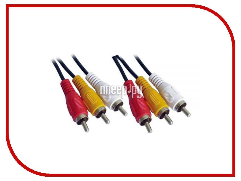 Аксессуар Mobiledata 3RCA 1.5m 3RCA-3RCA-1.5 techlink 640143 3rca 3rca 3м
