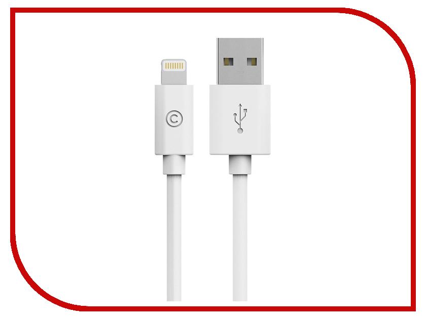 Аксессуар Bluelounge USB - Lightning 20cm White EX-L-W