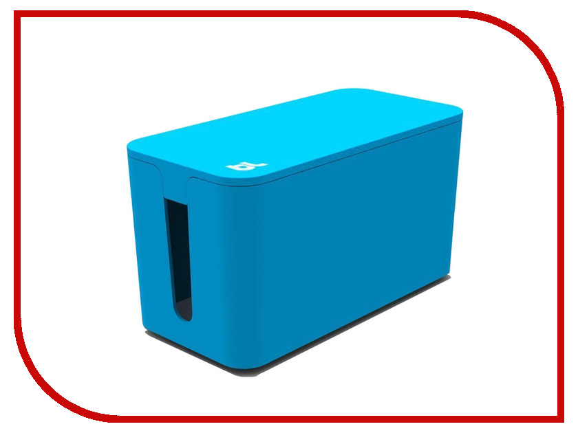 Аксессуар Bluelounge CableBox Blue CBM-BLU<br>