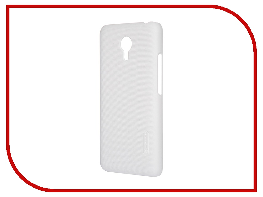 Аксессуар Чехол Meizu M2 Note Nillkin Frosted Shield White