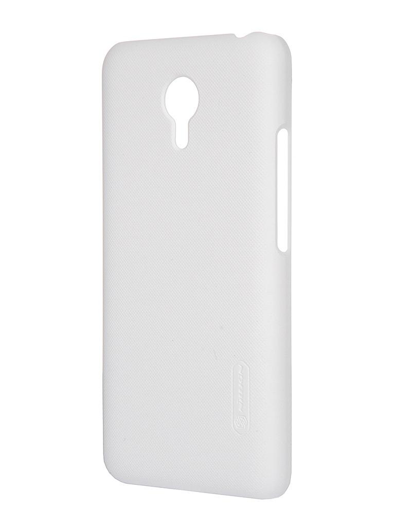 Аксессуар Чехол Meizu M2 Note Nillkin Frosted Shield White<br>