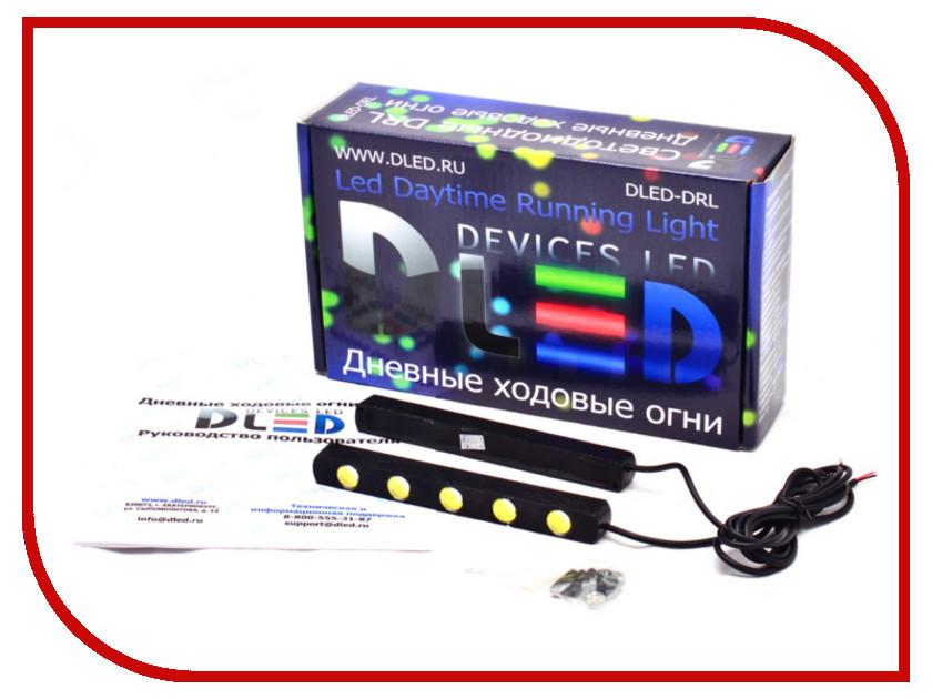 Дополнительная фара DLED DRL-85 3690 дневные ходовые огни dled drl 73 2 шт