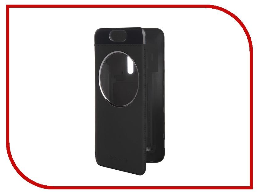 Аксессуар Чехол ASUS ZenFone 2 Selfie ZD551KL MyView Cover Black 90AC00X0-BCV001<br>