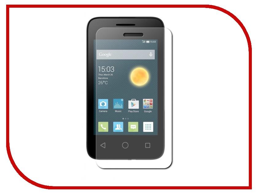 Аксессуар Защитная пленка Alcatel OneTouch 4009 Pixi 3 TFN матовая TFN-SP-01-010F2 аксессуар защитная пленка alcatel onetouch 4033d media gadget uc premium прозрачная mg797
