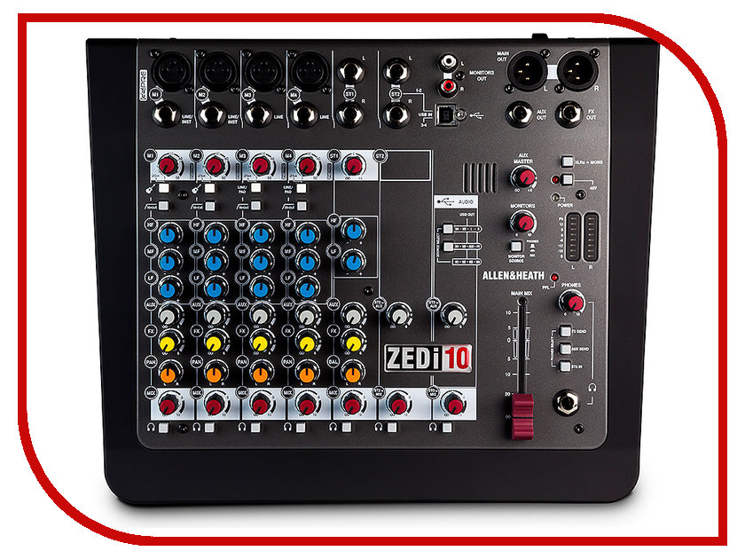 Пульт Allen &amp; Heath ZEDi10<br>