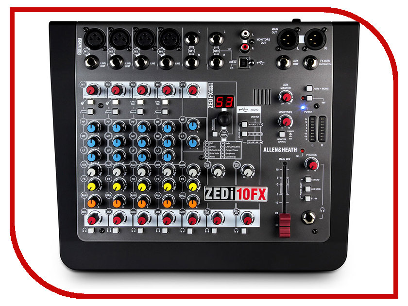 Пульт Allen & Heath ZEDi10FX heath