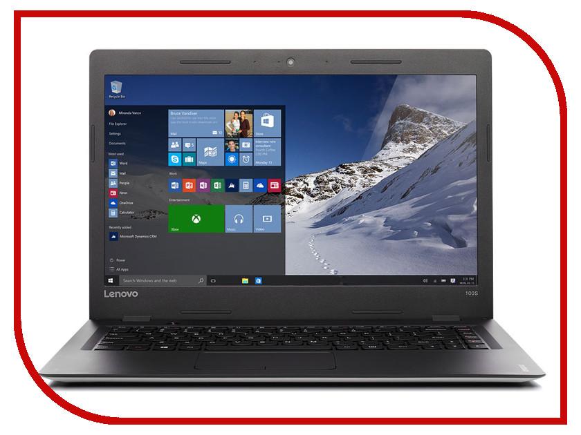 Ноутбук Lenovo IdeaPad 100S-14 80R9005BRK (Intel Celeron N3050 1.6 GHz/2048Mb/64Gb/No ODD/Intel HD Graphics/Wi-Fi/Bluetooth/Cam/14.0/1366x768/Windows 10)  ноутбук asus e502sa xo014t 90nb0b72 m01950 intel celeron n3050 1 6 ghz 2048mb 500gb no odd intel hd graphics wi fi bluetooth cam 15 6 1366x768 windows 10