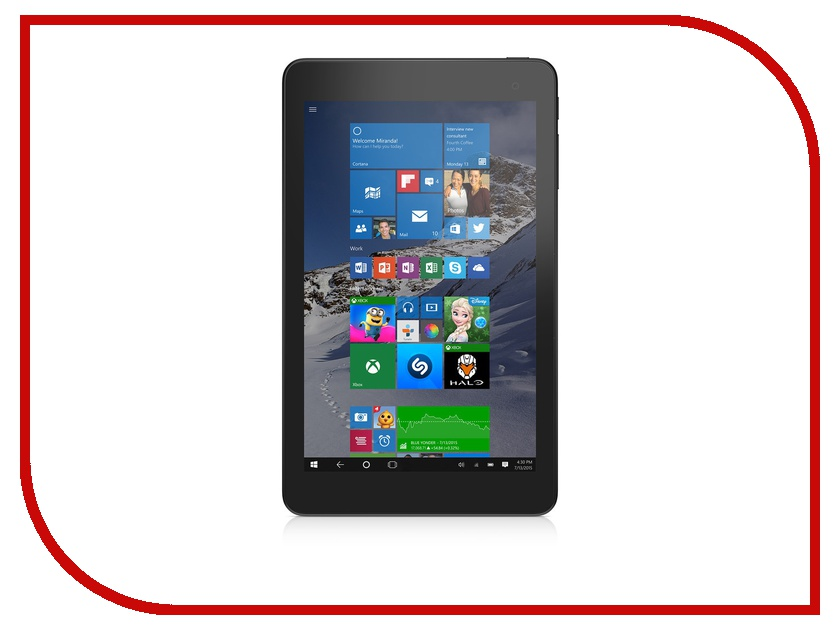 Планшет Dell Venue 8 Pro 5855-4674 Intel Atom x5-Z8500 1.44 GHz/2048Mb/32Gb/Wi-Fi/Bluetooth/Cam/8.0/1280x800/Windows 10