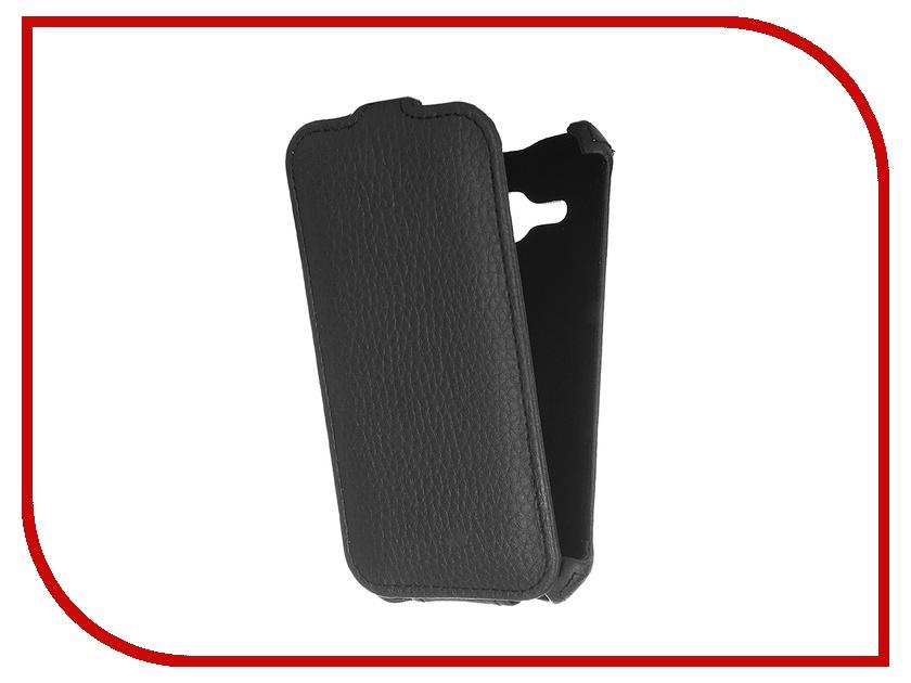Аксессуар Чехол для Samsung Galaxy J1 J120F/DS 2016 Gecko Black GG-F-SGJ1-2016-BL соковыжималка hotpoint ariston sj4010 fxb0