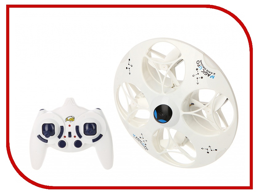 Радиоуправляемая игрушка Happy Cow UFO HC 777-376 White<br>