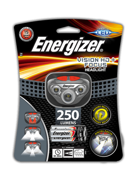 цена на Фонарь Energizer Headlight Vision HD+ Focus E300280702 / 28529