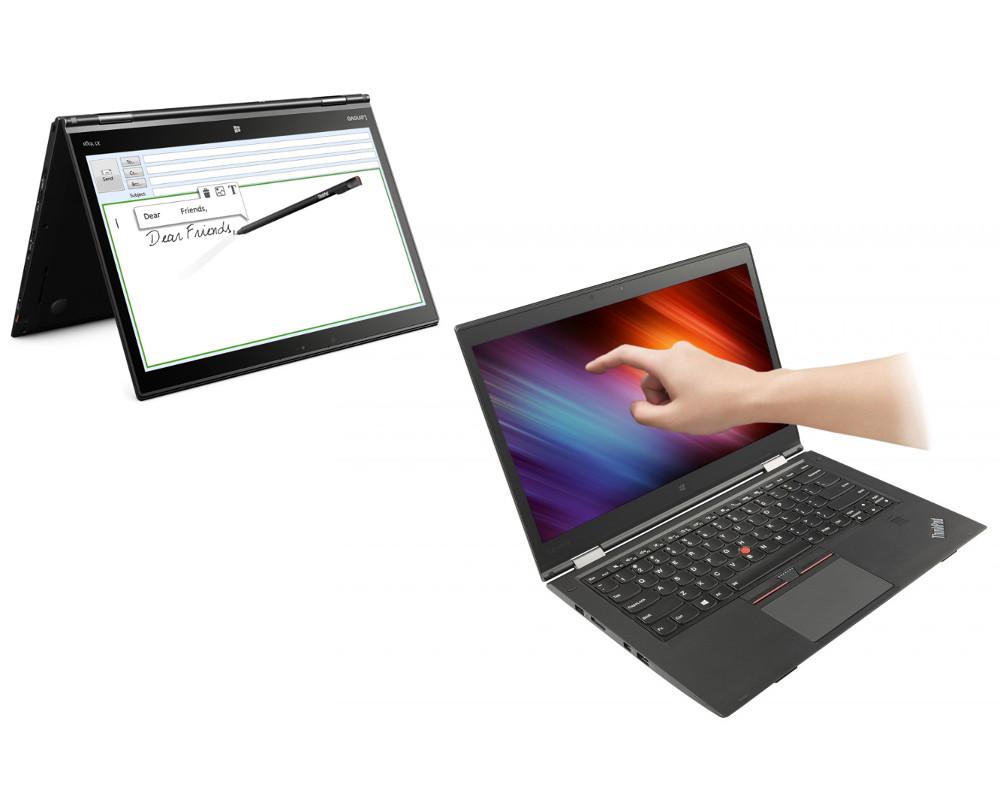 ������� Lenovo ThinkPad X1 Yoga 20FQ0044RT Intel Core i7-6600U 2.6 GHz/16384Mb/512Gb SSD/No ODD/Intel HD Graphics/LTE/Wi-Fi/Bluetooth/Cam/14.0/2560x1440/Touchscreen/Windows 10 64-bit