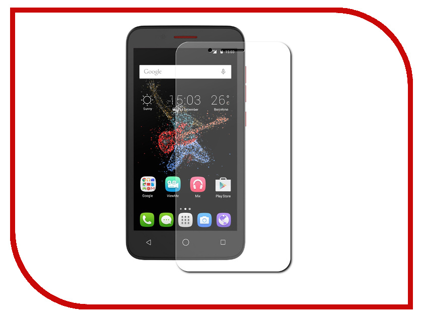 Аксессуар Защитное стекло Alcatel OneTouch 7048X Go Play CaseGuru 85941 мобильный телефон alcatel onetouch 2008g black white