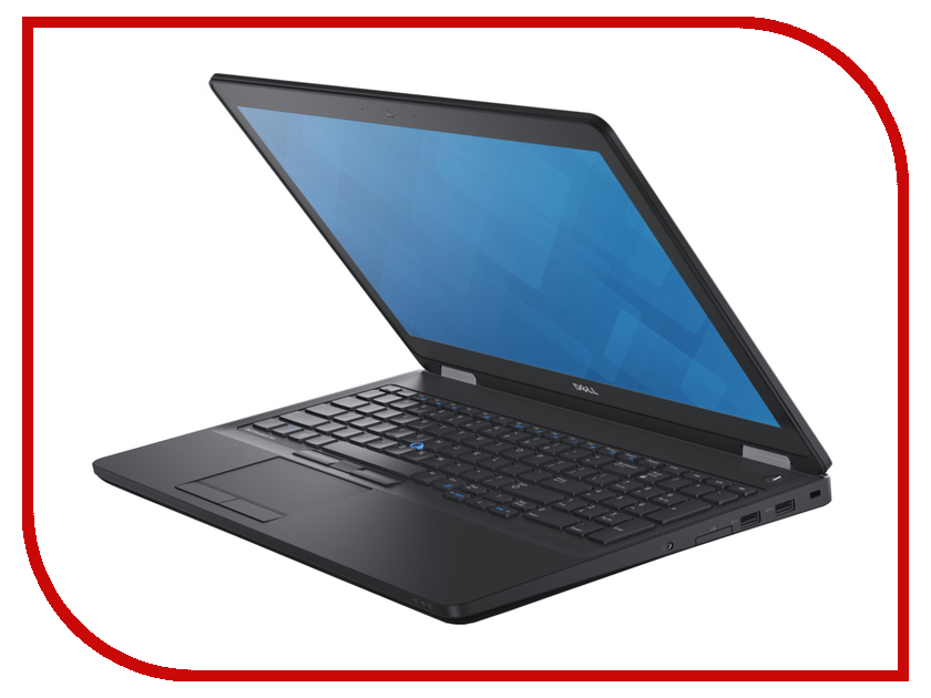 Ноутбук Dell Precision 3510 3510-9440 Intel Core i5-6300HQ 2.3 GHz/8192Mb/1000Gb/No ODD/AMD FirePro W5130M 2048Mb/Wi-Fi/Bluetooth/Cam/15.6/1920x1080/Windows 7 64-bit 360221<br>