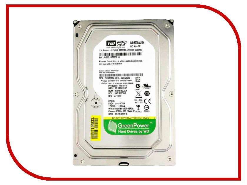 Жесткий диск 320Gb - Western Digital WD3200AUDX