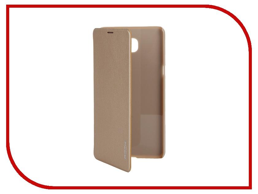 Аксессуар Чехол Samsung Galaxy A9 ROCK Touch Golden<br>