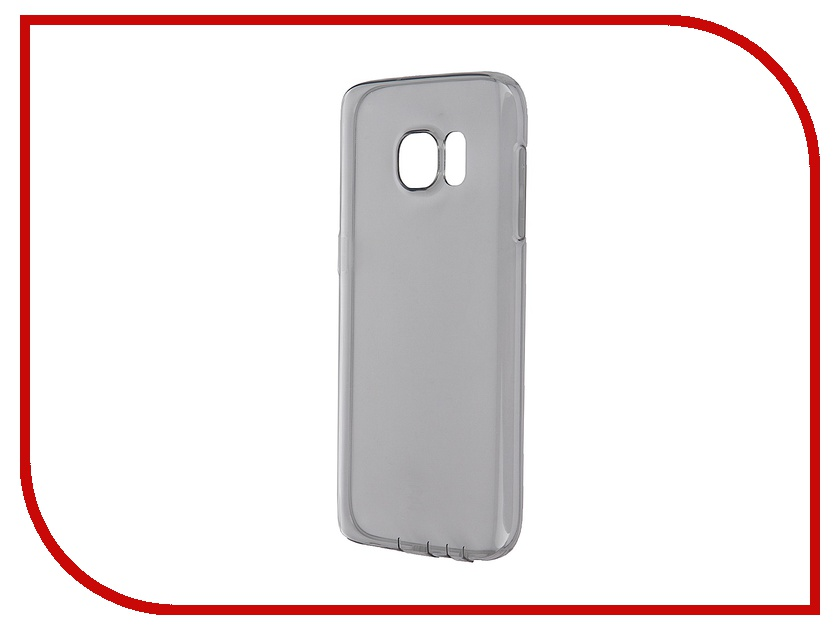 Аксессуар Чехол-накладка Samsung Galaxy S7 ROCK Ultrathin TPU Slim Jacket Transparent-Black<br>