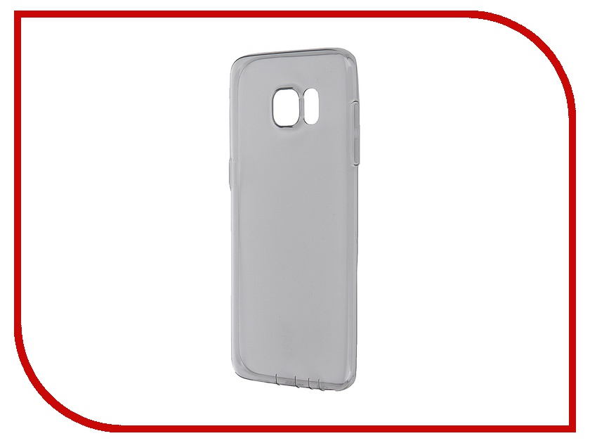 Аксессуар Чехол ROCK for Samsung Galaxy S7 Edge Ultrathin TPU Slim Jacked Transparent-Black<br>