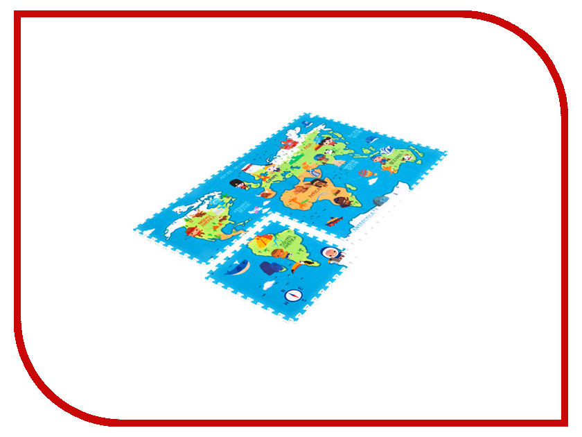 Развивающий коврик Mambobaby Карта мира 70005