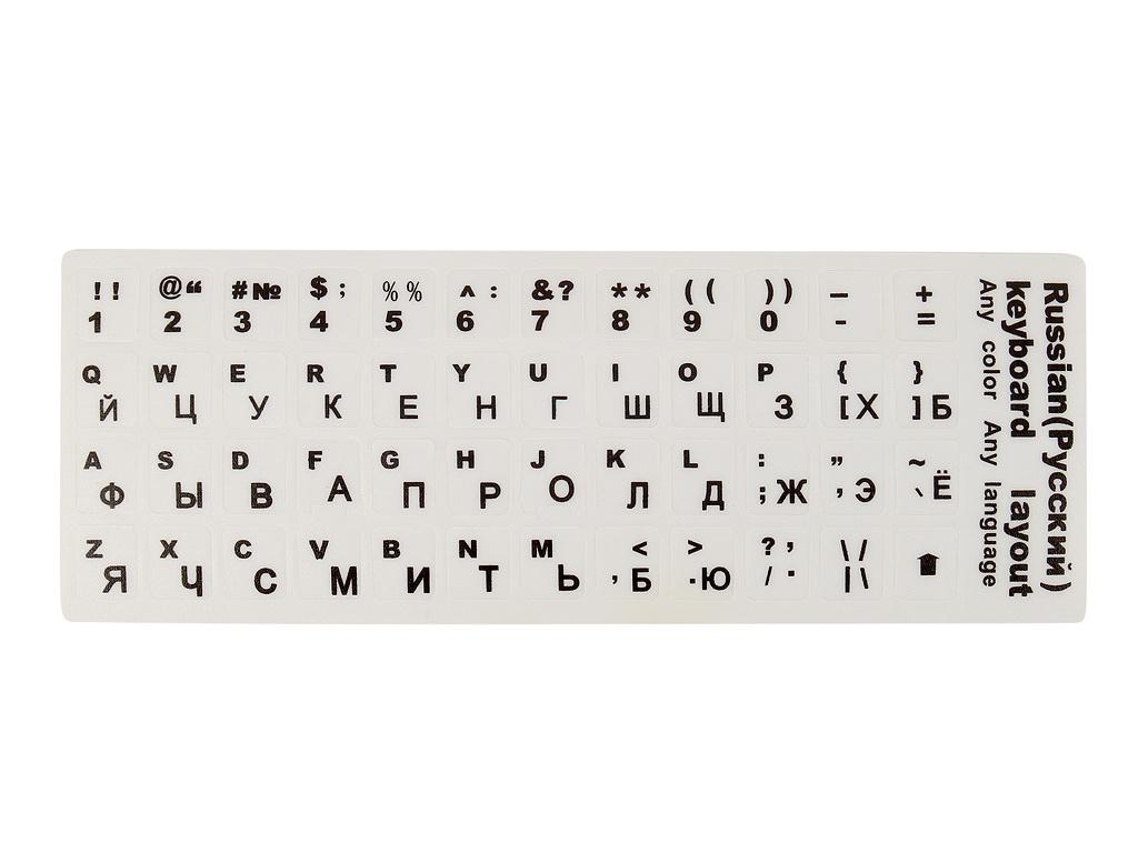Наклейка на клавиатуру для ноутбука TopON ST-FK-5RLW