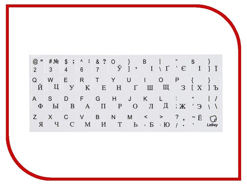Аксессуар TopON ST-FK-4B наклейка на клавиатуру для ноутбука<br>