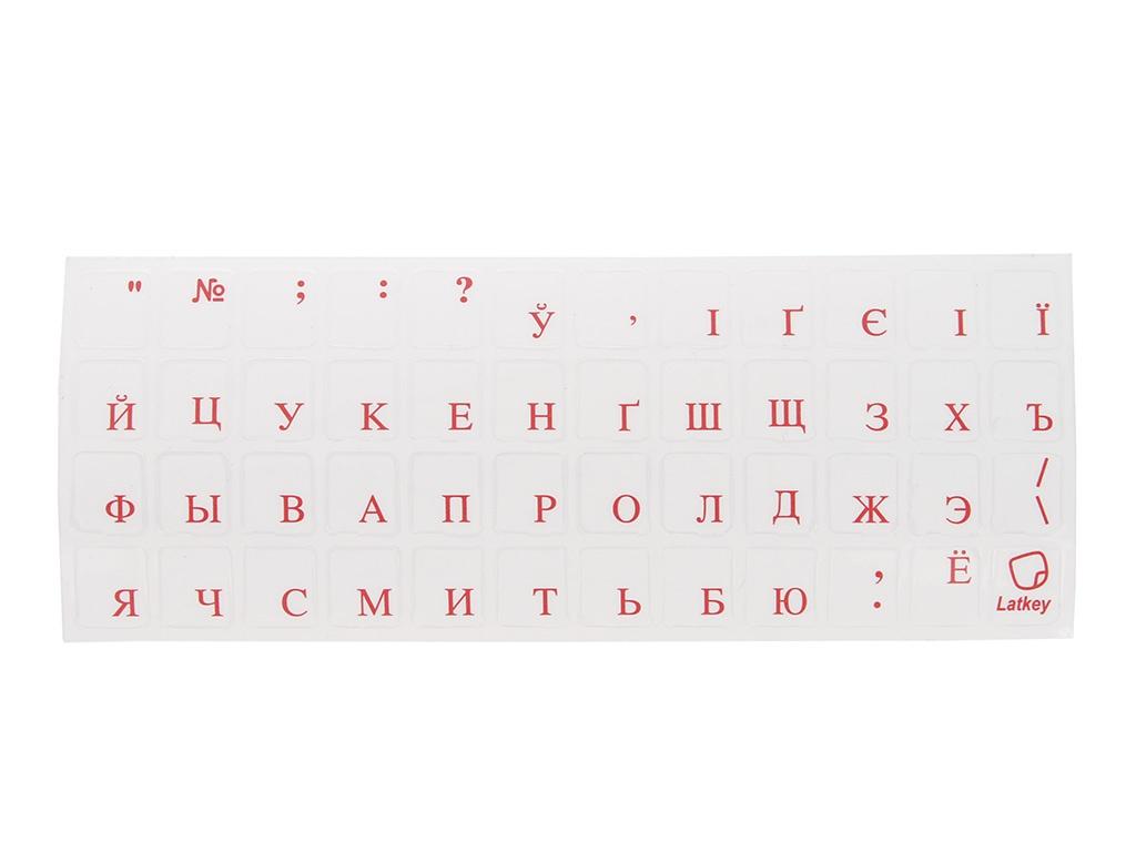 Наклейка на клавиатуру для ноутбука TopON ST-FK-3R