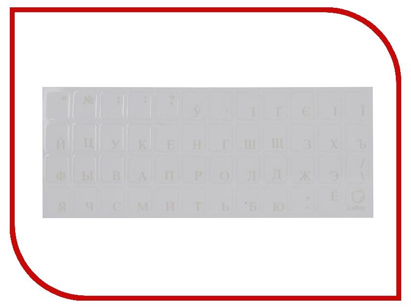 Аксессуар TopON ST-FK-1W наклейка на клавиатуру для ноутбука