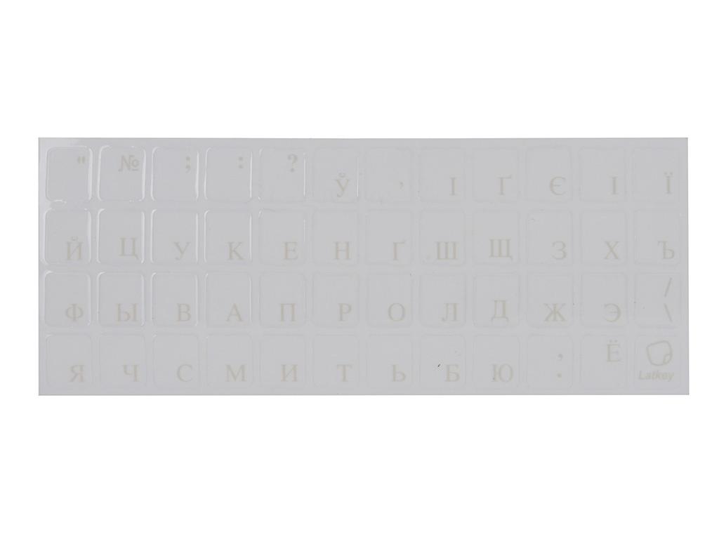 Наклейка на клавиатуру для ноутбука TopON ST-FK-1W