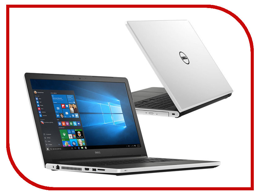 Ноутбук Dell Inspiron 5555 5555-9211 AMD A6-7310 2.0 GHz/4096Mb/500Gb/DVD-RW/AMD Radeon R5 M335 2048Mb/Wi-Fi/Bluetooth/Cam/15.6/1366x768/Windows 10 64-bit 352151<br>
