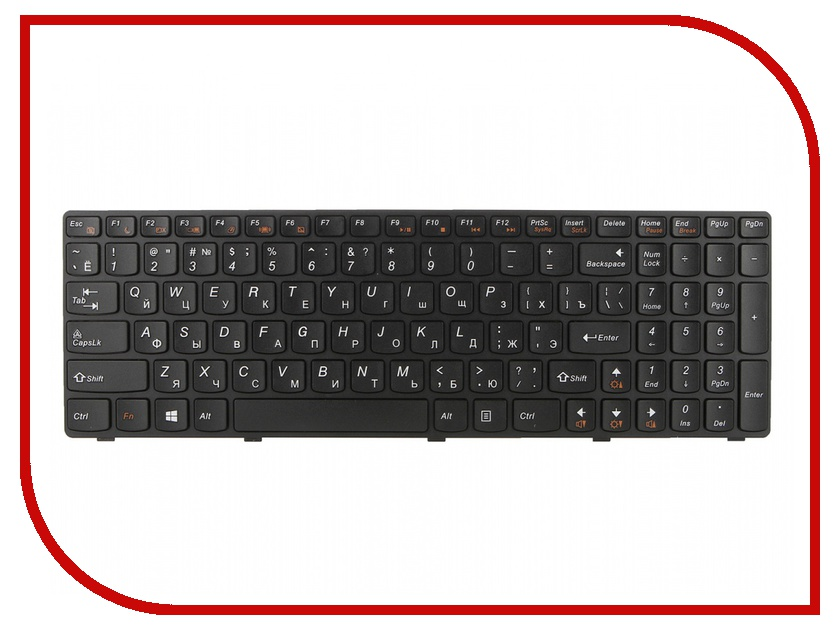 Клавиатура TopON TOP-97404 для Lenovo G500 / G505 / G505A / G510 / G700 / G700A / G710 / G710A Series Black<br>