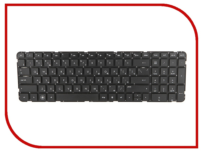 Клавиатура TopON TOP-90695 для HP Pavilion G6-2000 / G6-2100 / G6-2200 / G6-2300 Series Black