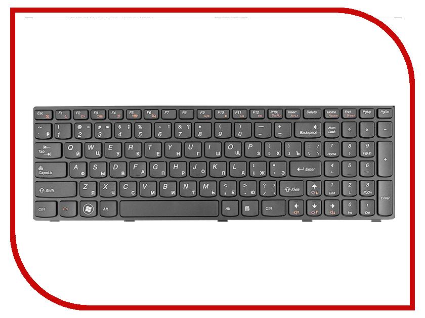 Клавиатура TopON TOP-89424 для Lenovo Ideapad G580 / G580A / B580 / B580A / G585 / G585A / G780 / Z580 Series Black<br>