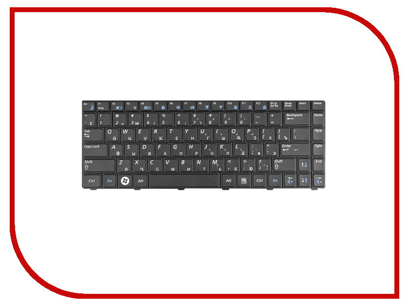Клавиатура TopON TOP-90694 для Samsung R513 / R515 / R518 / R520 / R522 Series Black<br>