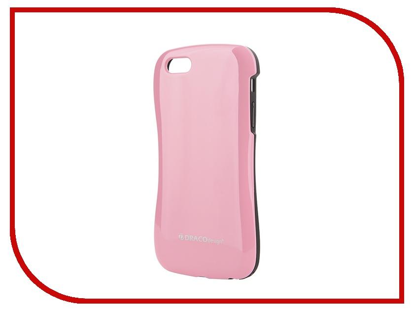 Аксессуар Чехол DRACO Allure P для iPhone 5 / 5S Black-Pink DR50ALPO-BPK<br>