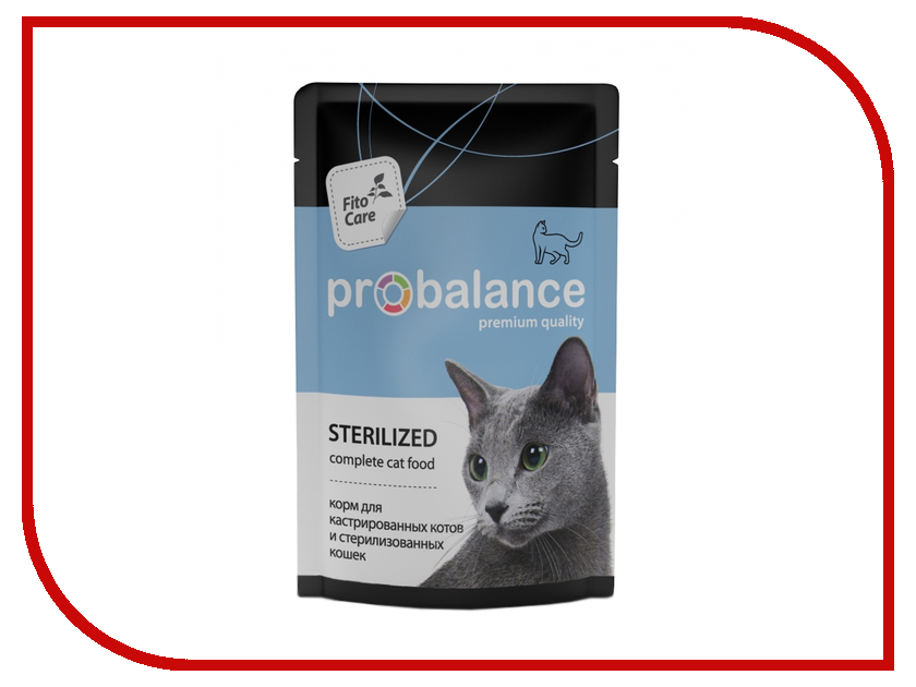 Корм ProBalance Sterilized 85g для стерилиз.кошек / кастр. котов